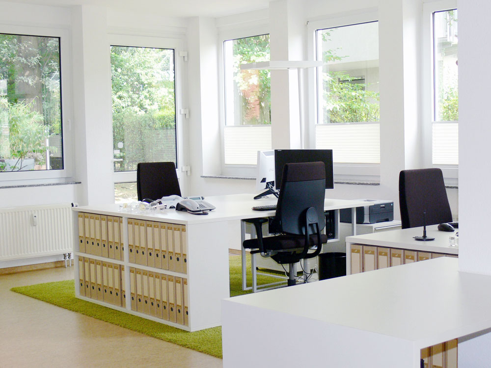 Raumplanung für Mariapflegedienst in Köln, Marcelle Bruckhoff