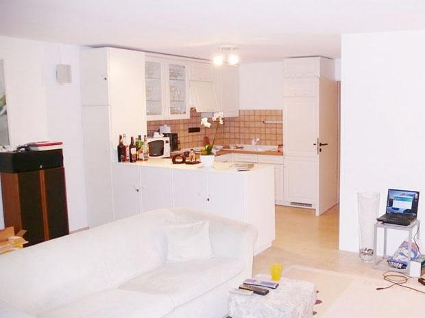 Küche vorher, Marcelle Bruckhoff