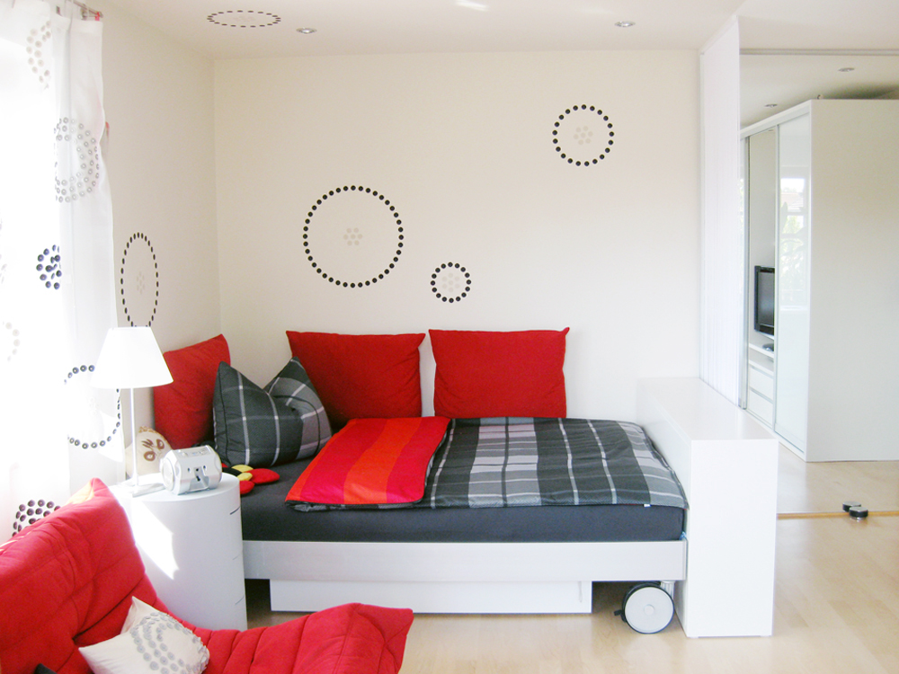 Raumidee - Farbe im Gästezimmer