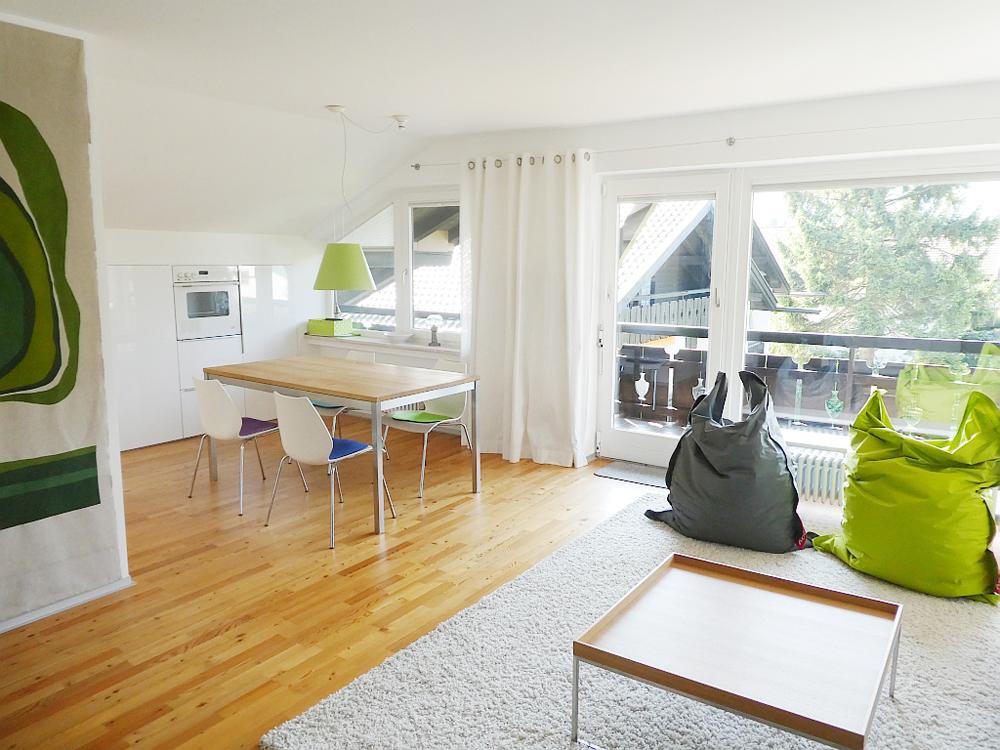 Raumidee - Farbe im Wohnraum