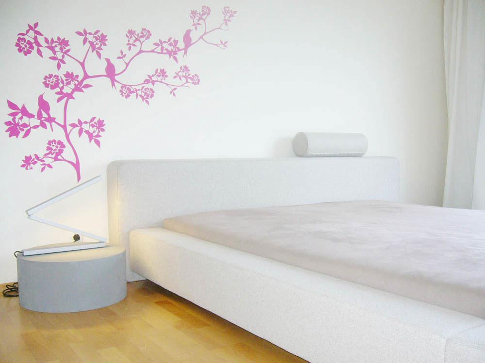 Raumidee - Wandmalerei im Schlafzimmer