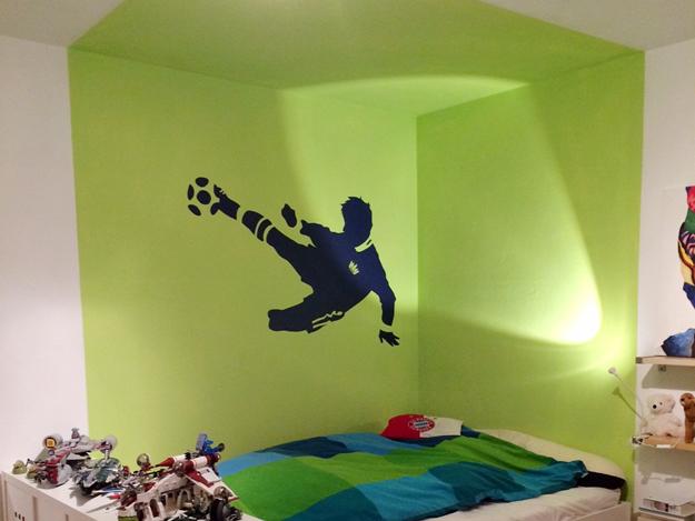 Farbe im Raum - Idee im Kinderzimmer
