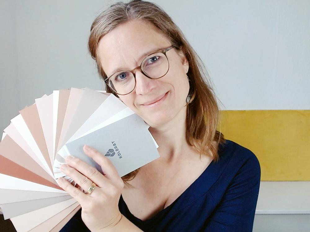 Die Farbexpertin Marcelle Bruckhoff